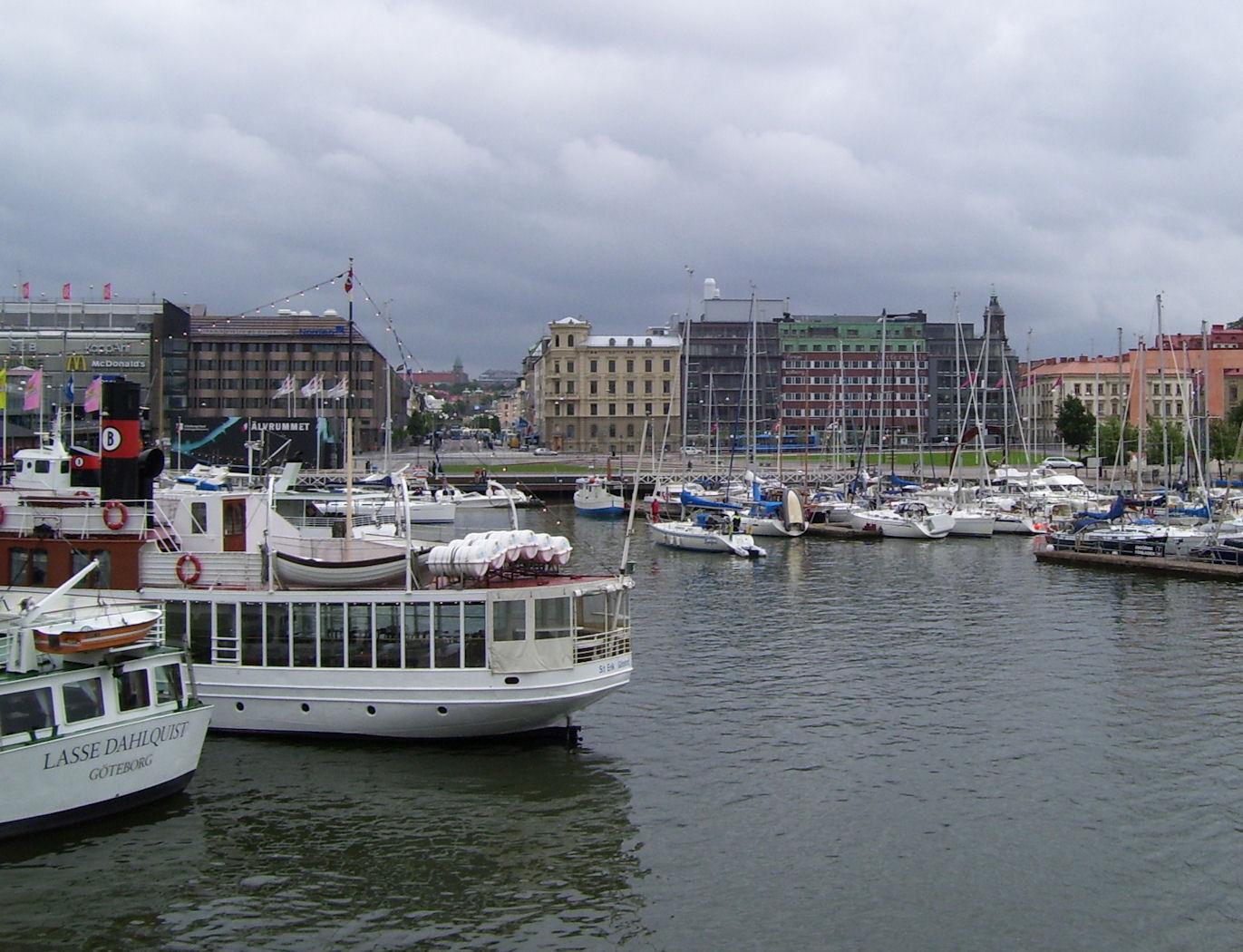 Gothenburg Sweden harbor