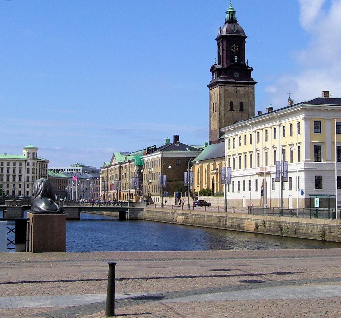 Gothenburg canal