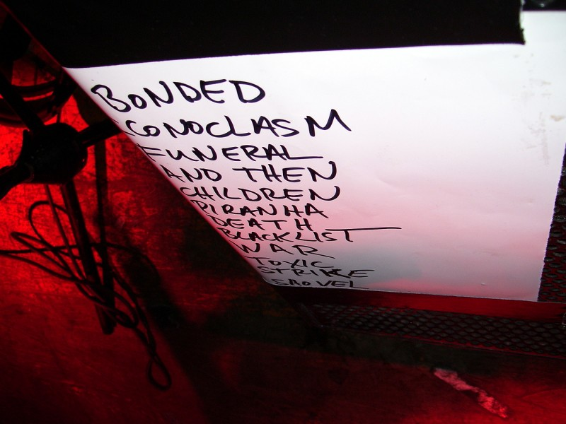 exodus set list 2008 pre-Wacken july 30