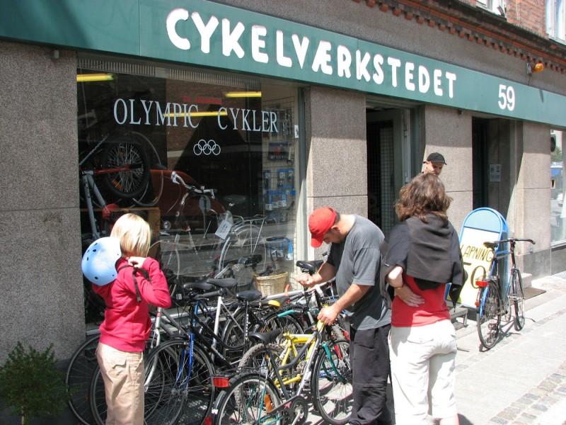Suspected terrorist and his bike shop in Copenhagen