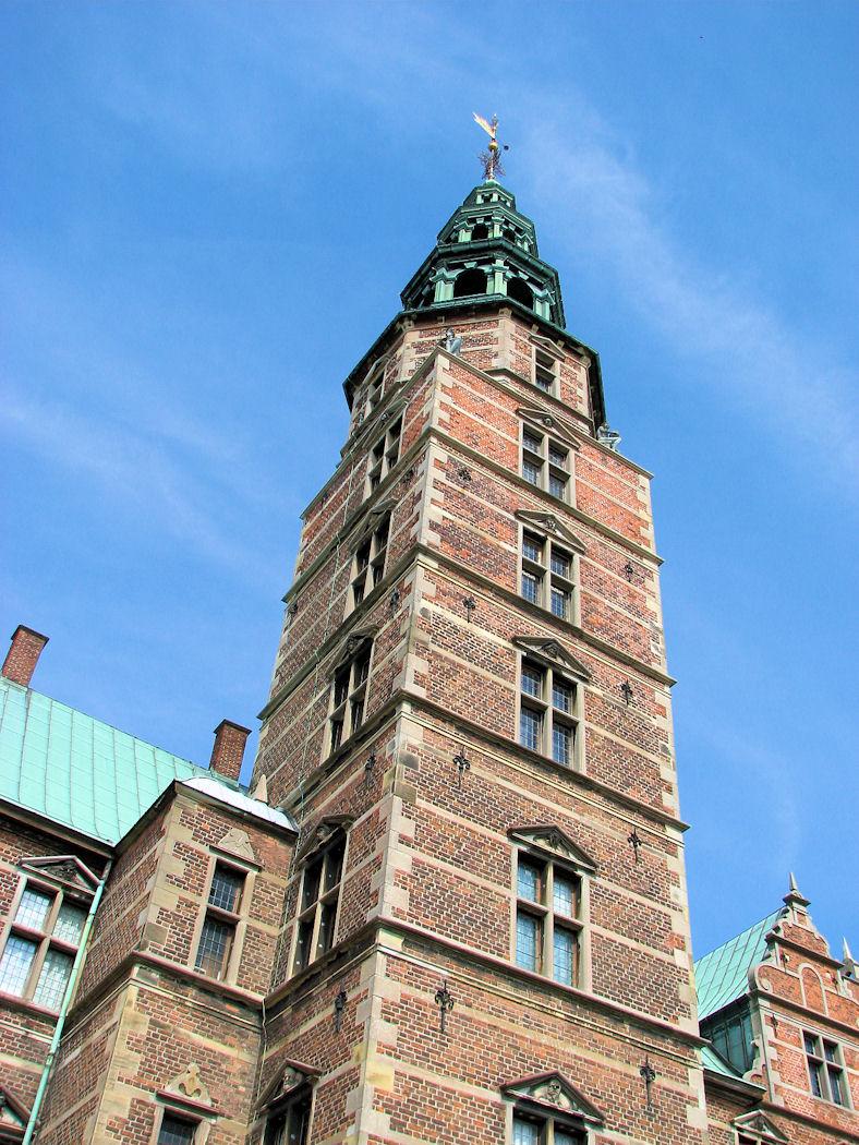 View from base of Rosenborg Castle