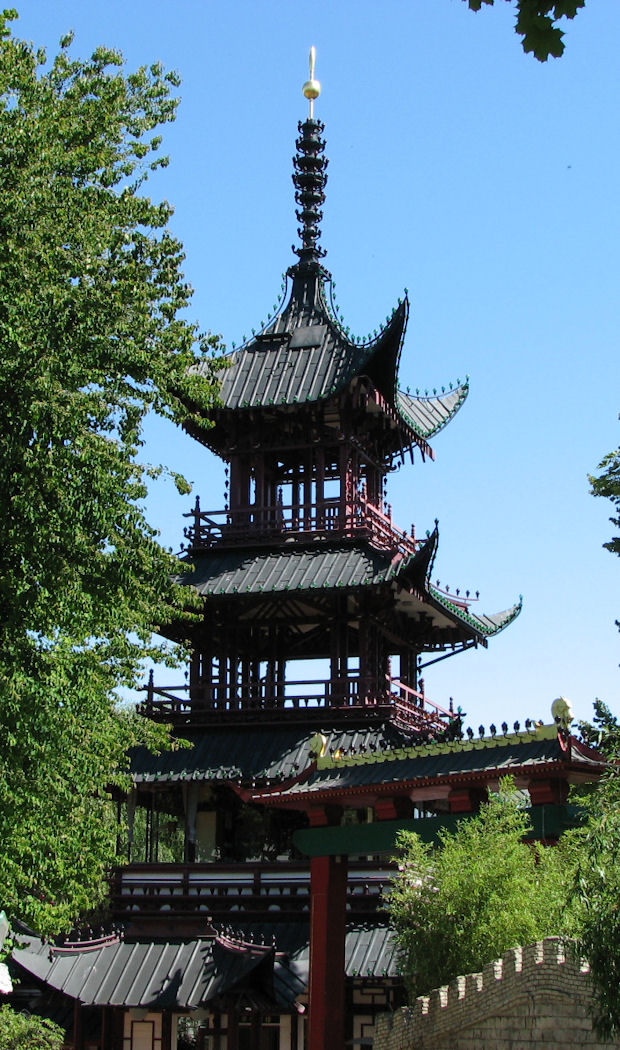 Tivoli Gardens Chinese Pagoda