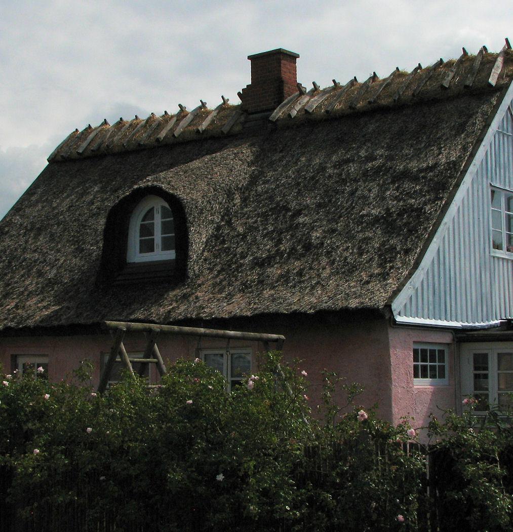 cute danish houses on the coast