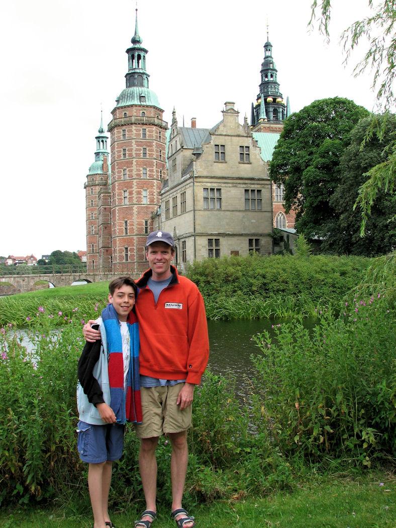 Denmark famous castle