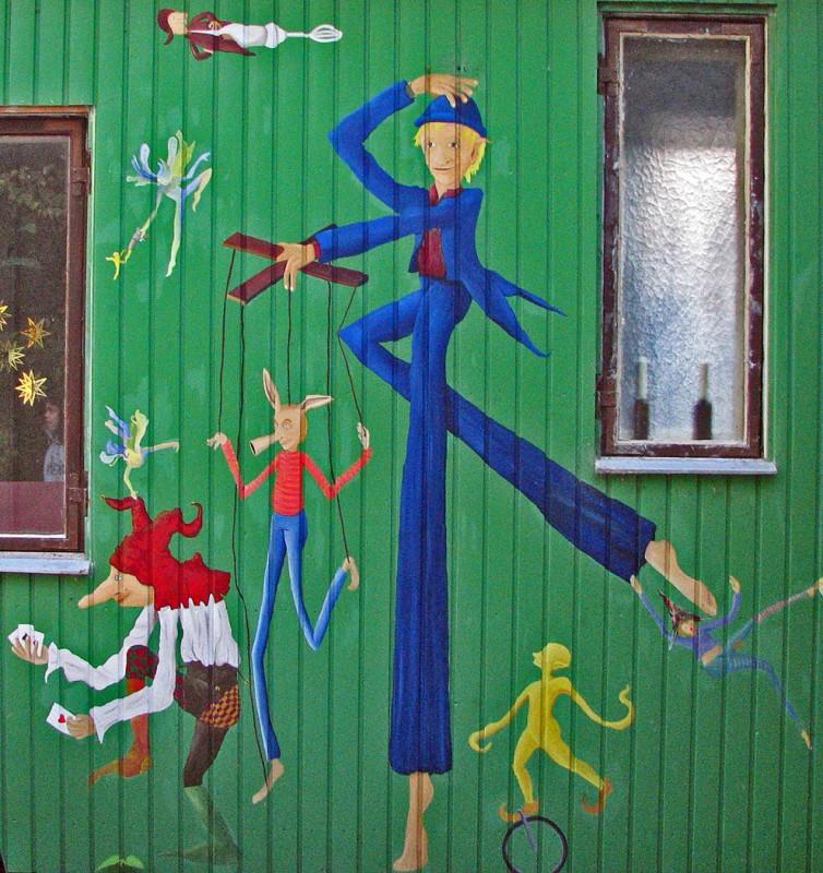 copenhagen denmark graffiti art