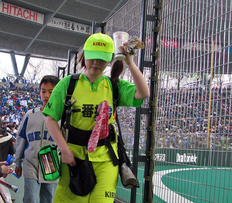 Asahi Beer Promoting Girls! @ Houston Japanese Festival 20 ... |Japanese Beer Girls