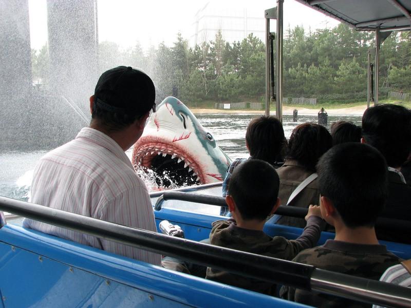 jaws ride usj osaka japan universal studios