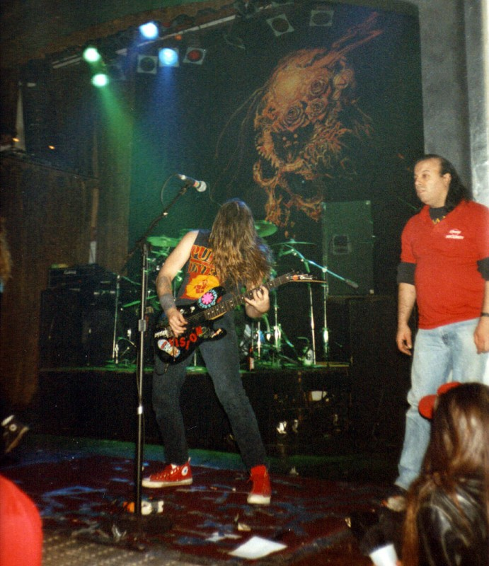 sepultura Andreas Kisser beneath the remains tour omni oakland 1989