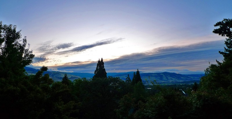 last sunrise in ashland oregon