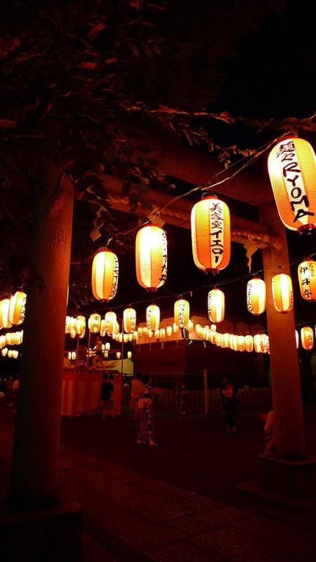 bon odori torii