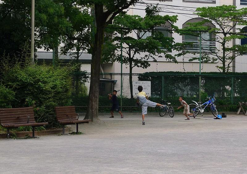 野球 甘泉園公園