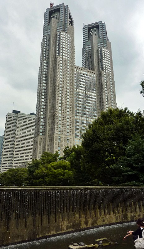 Tokyo Metropolitan Government Office Tocho shinjuku japan