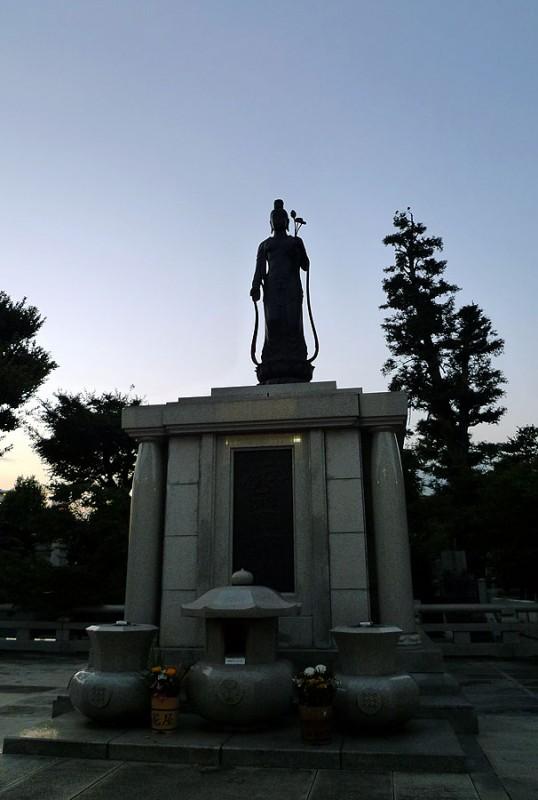 tokyo japan buddhism Gokokuji 護国寺 buddah
