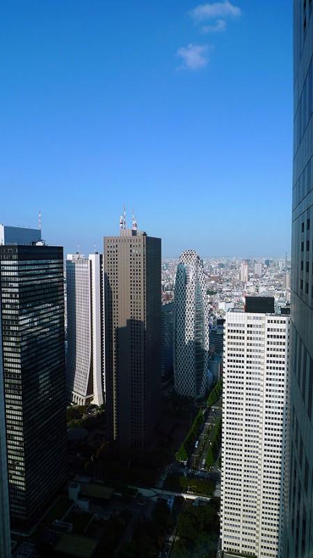 shinjuku tokyo skyscrapers high-rise buildings japan
