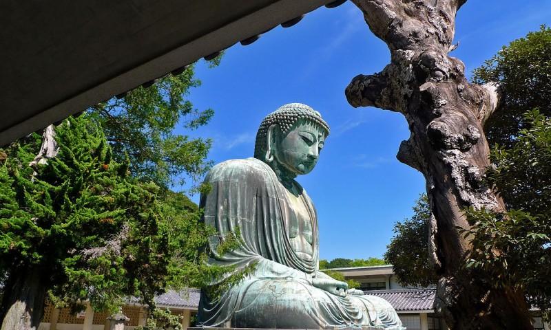 giant buddha kamakura daibutsu