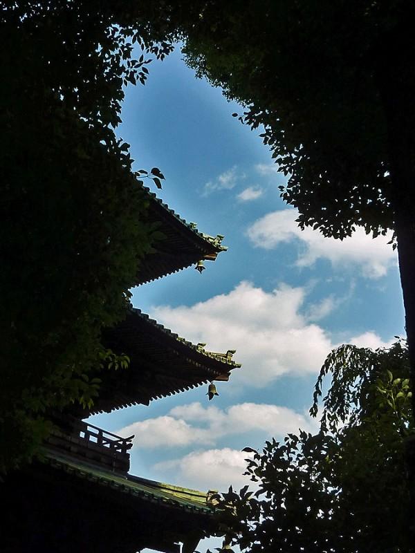椿山荘 pagoda chinzanso tokyo japan