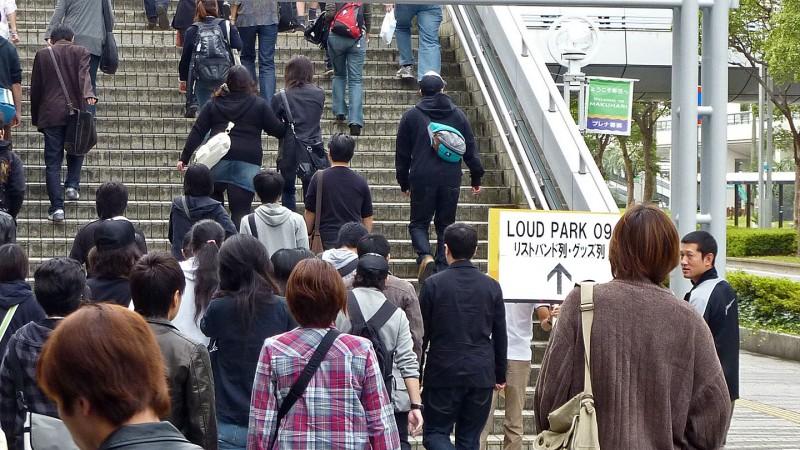 LoudPark Loud Park 2009 Tokyo Japan crowd