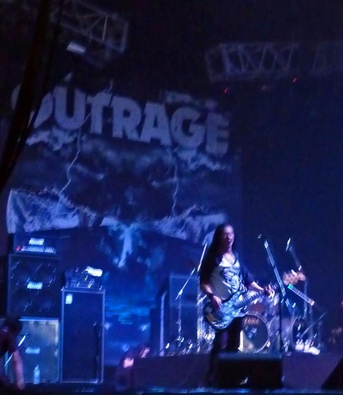 outrage loud park 2009 アウトレイジ Yoshihiro Yasui 安井義博 band
