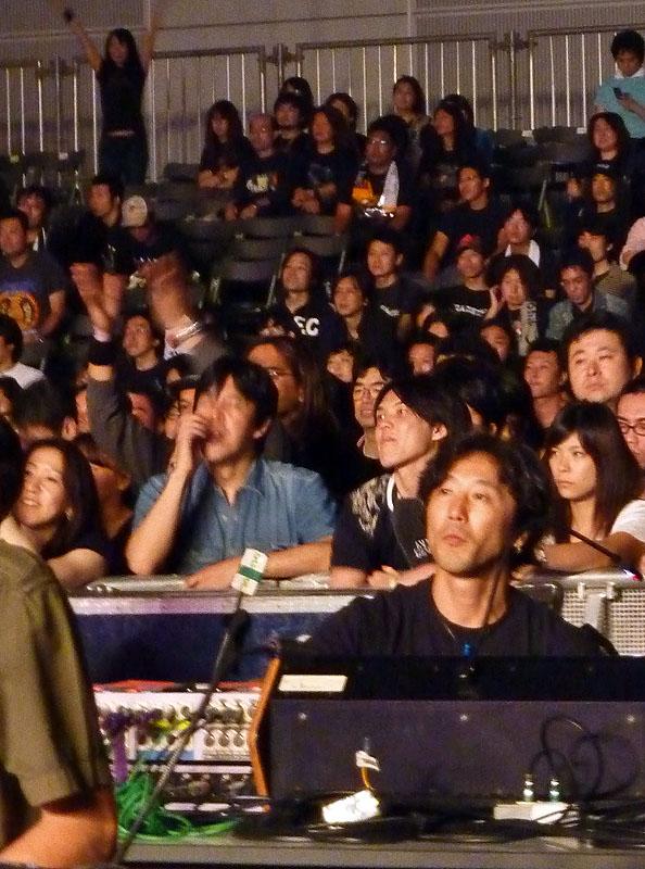 アンスラックス anthrax mixing board tokyo japan loud park 2009 09