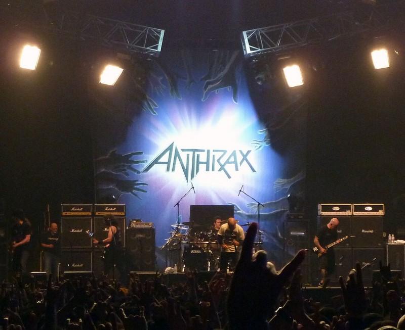 アンスラックス anthrax loud park 09 tokyo chiba japan