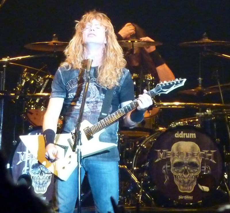dave mustaine megadeth loudpark 09 tokyo japan