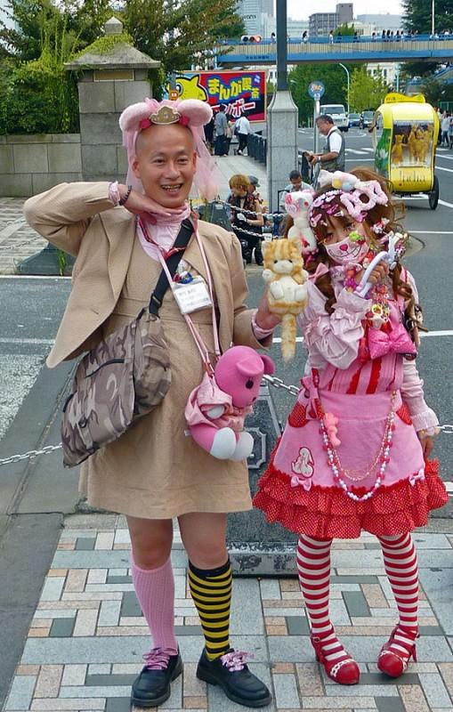 harajuku cosplay girls tokyo japan
