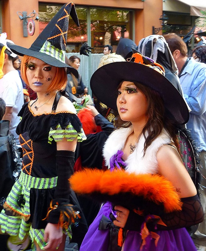 japanese witch costume kawasaki halloween parade