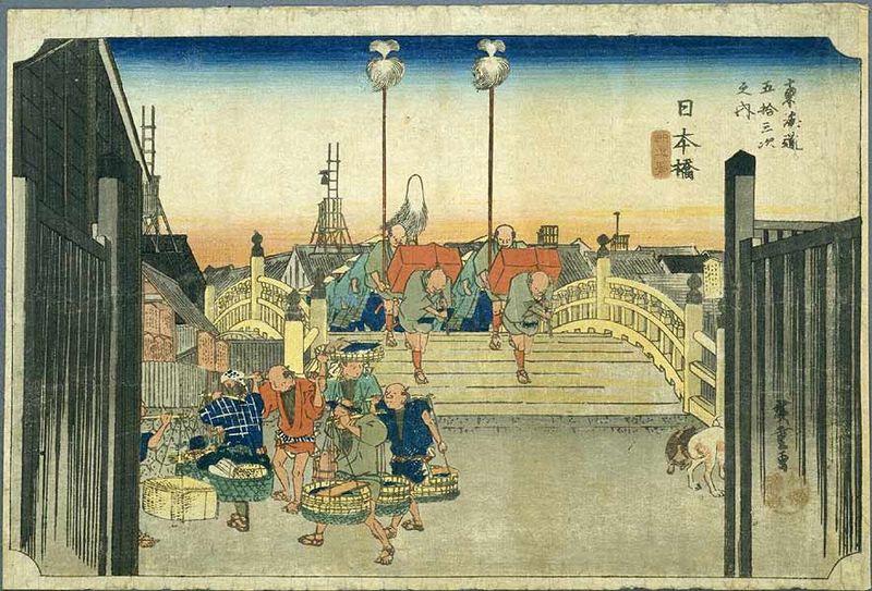 hiroshige nihonbashi