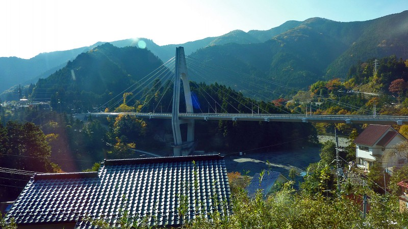 bridge near 御岳山 mt. mitake station