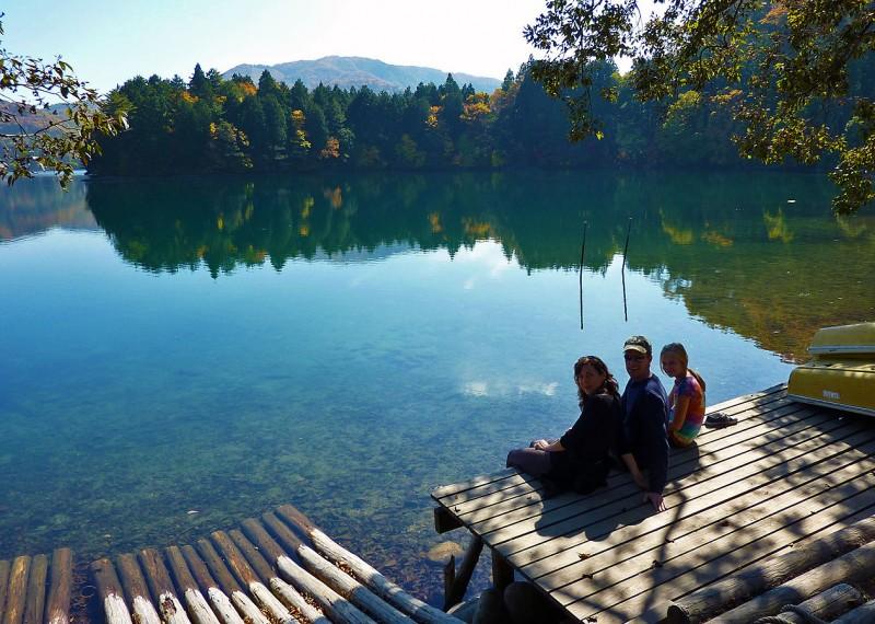 Lake Aoki 青木湖 aokiko hakuba japan