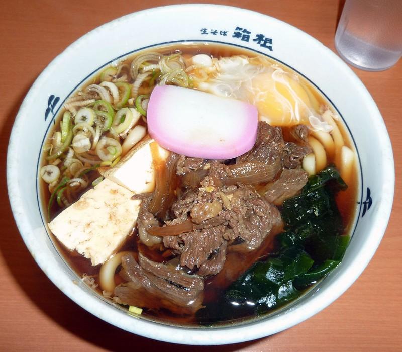 sukiyaki udon hakone 牛すきうどん soba japanese food
