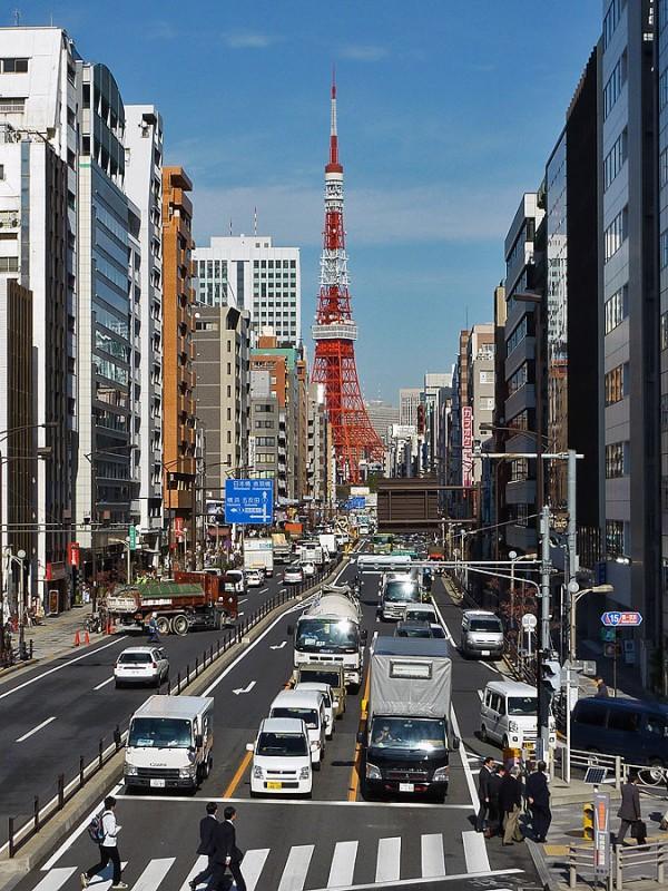 tokyo tower tamachi mita minato ku