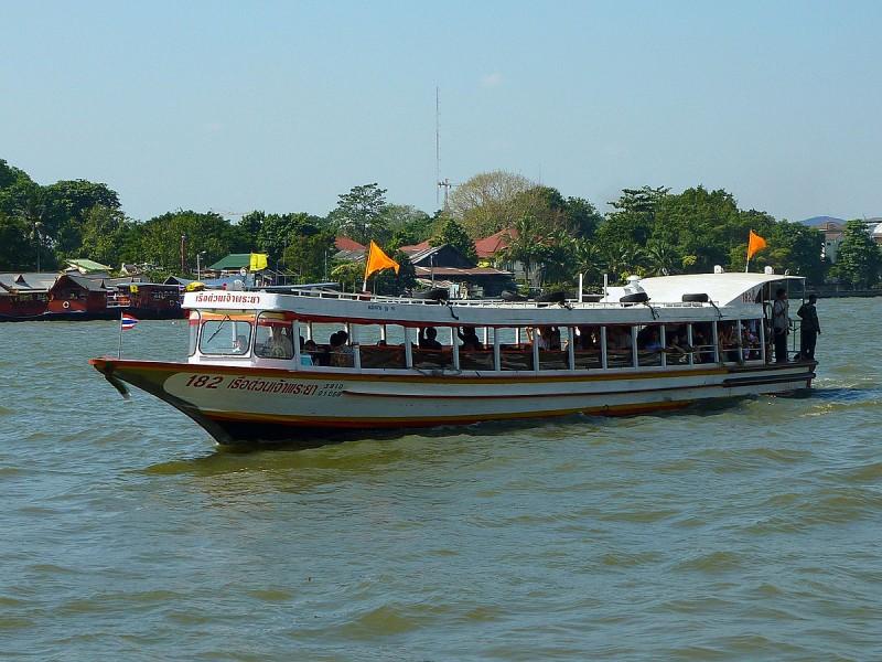 Chao Phraya River public boat transportation Express