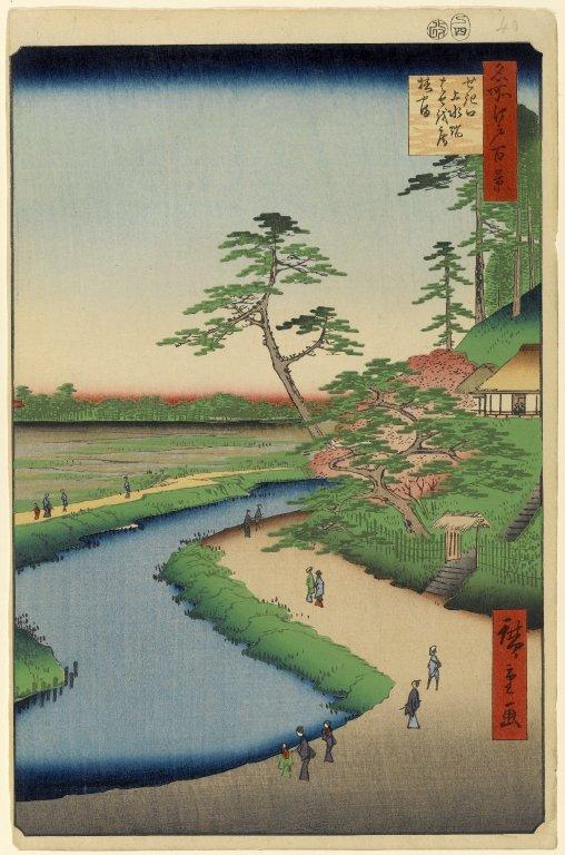 Kanda River 神田川 ukiyo-e