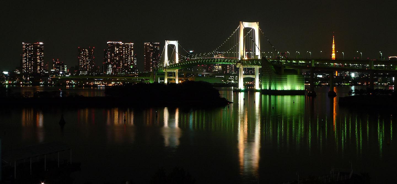 Odaiba Nights - Tokyo - Japan Travel - Japan Tourism Guide and ...