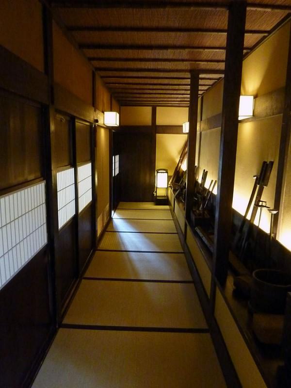 japanese tatami hallway