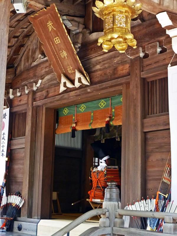 kofu japan 武田神社