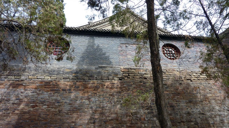ancient brick stone building china