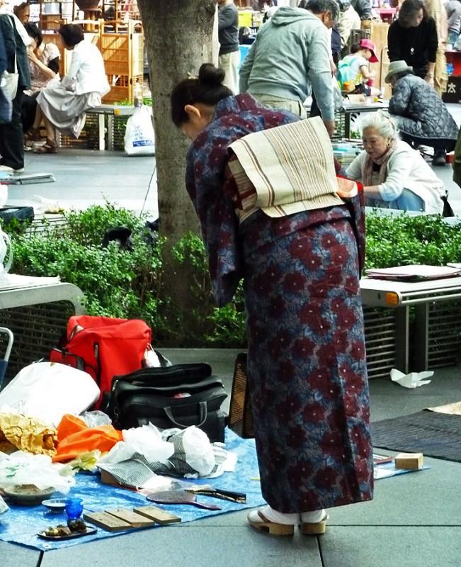 oedo antique market tokyo japan