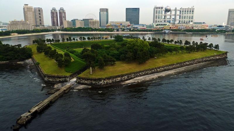 第三台場 No. 3 Battery Metropolitan Daiba Park