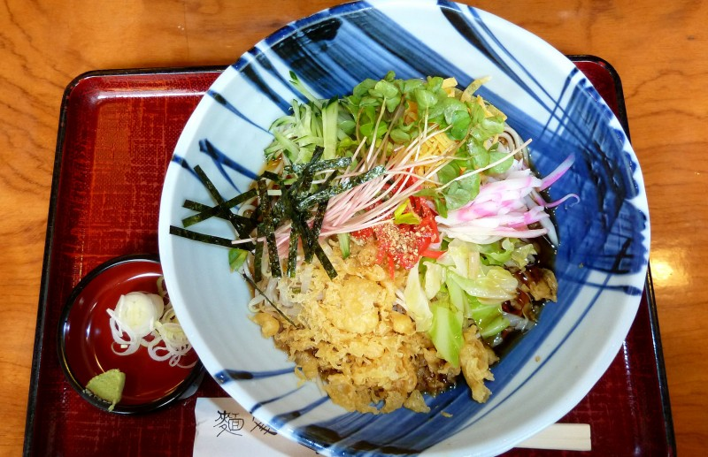 tanuki soba salad