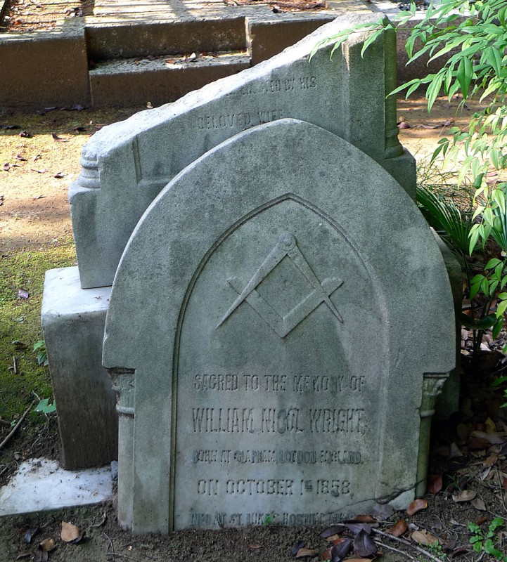 foreign grave in japan