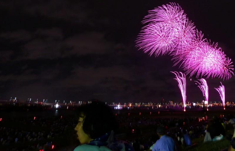 fireworks tokyo japan