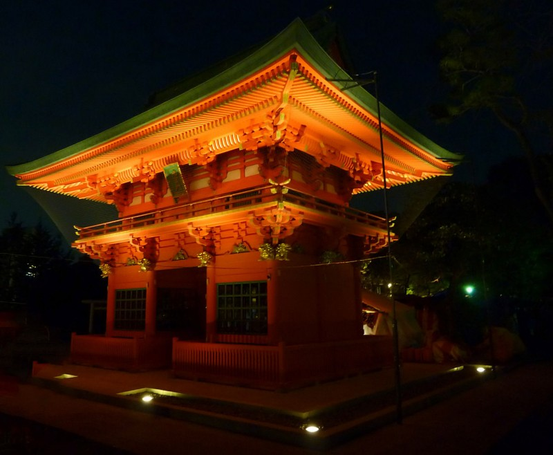 Anahachimangu 穴八幡宮 tokyo shinjuku waseda university shrine japan