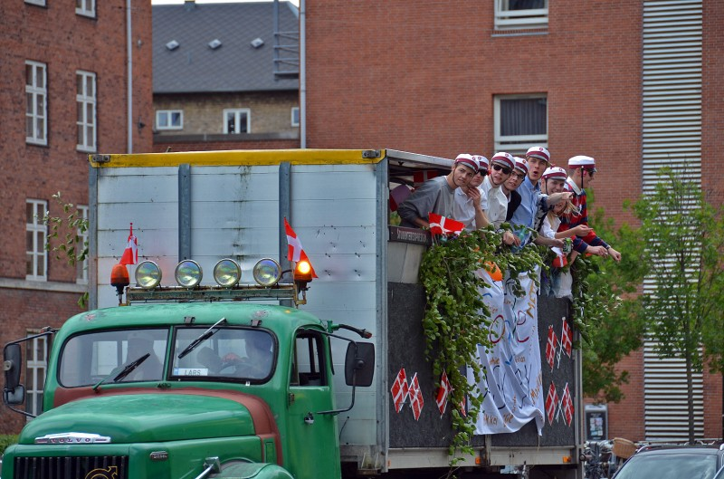 party in farm truck copenhagen denmark