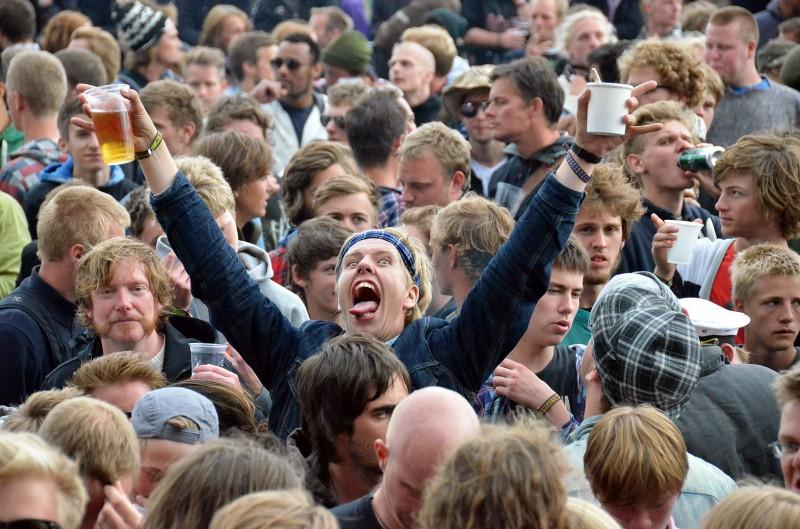 denmark roskilde festival 2011