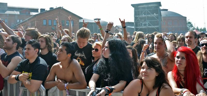 getaway rock festival sweden crowd