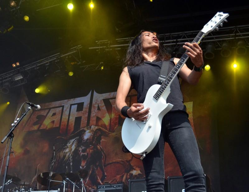 death angel guitar