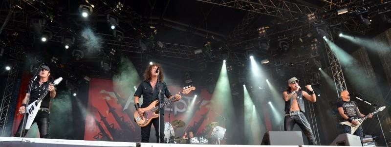 accept german band getaway rock festival grf