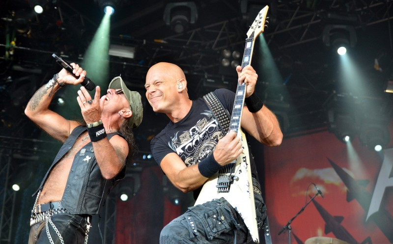 Mark Tornillo and Wolf Hoffmann